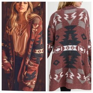 🔥 4th Restock! 🔥 Aztec Tribal Print Cardigan